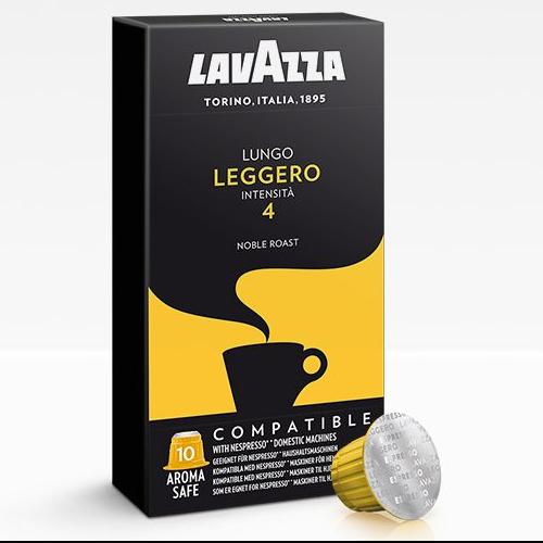 10 קפסולות Lavazza Leggero Lungo