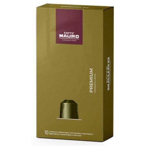10 קפסולות Mauro Premium תואמות נספרסו*