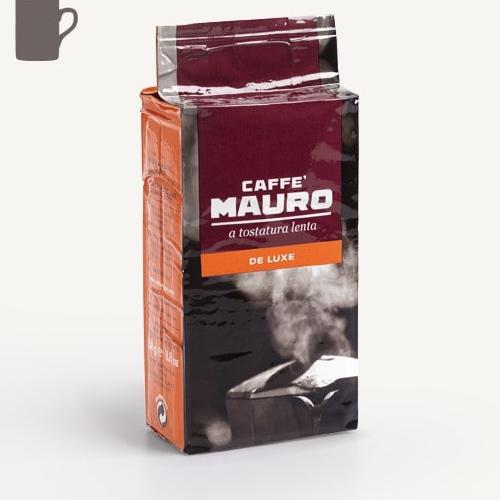 250 גרם קפה טחון בוואקום Mauro De-Luxe