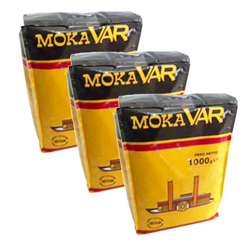 """3 ק""""ג פולי קפה ורניני מוקה ואר Varanini MokaVAR"""