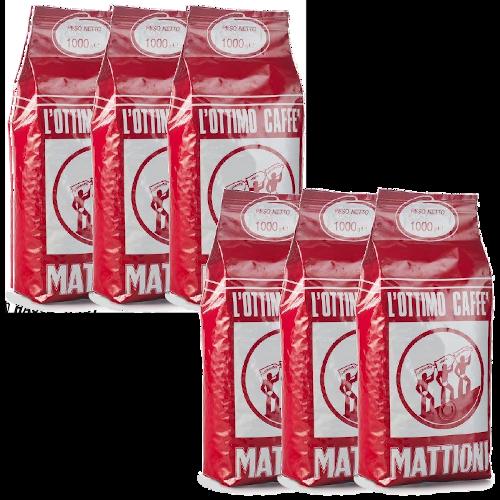"""6 ק""""ג פולי קפה האוסברנדט מטיוני Hausbrandt Mattioni"""