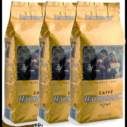 """3 ק""""ג פולי קפה האוסברנדט אספרסו Hausbrandt Espresso"""