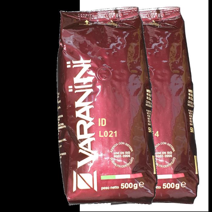 500 גרם פולי קפה ורניני Vending - Varanini ID