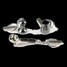 מחזיק מפתחות ממתכת איכותית לחובבי הקפה