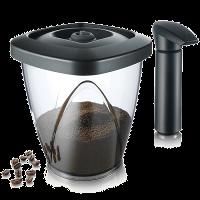 וואקוווים, קופסה לאיחסון הקפה עם משאבה