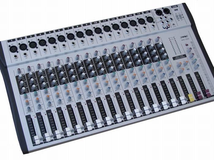 מיקסר 16 ערוציפ MX-1600 MP3 BTS