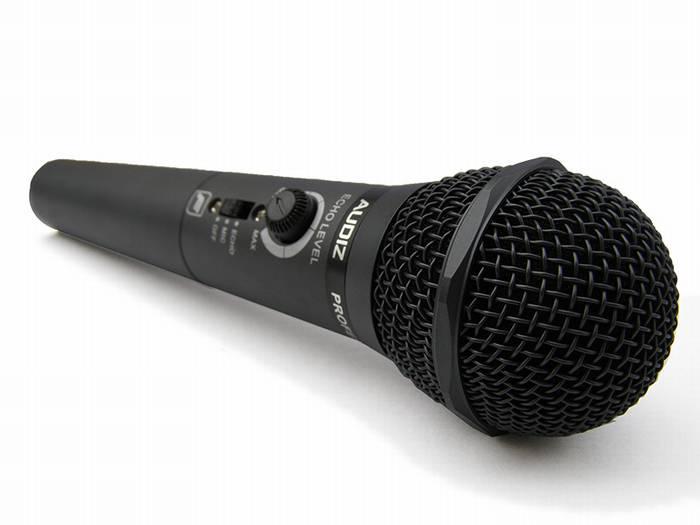 מיקרופון עם אקו AUDIZ AM-709 ICM
