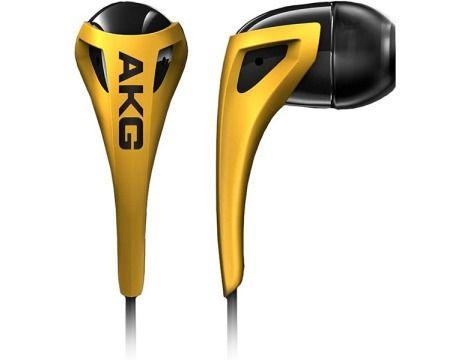 אוזניות AKG K330 - צהוב-שחור