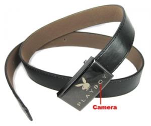 מצלמת ריגול מוסלקת בחגורה גברית אופנתית