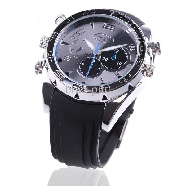 שעון מצלמת ריגול Spy Watch 4GB באיכות Full HD