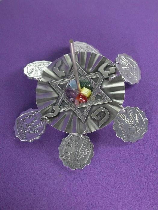 ס.מגן דוד+מטבעות
