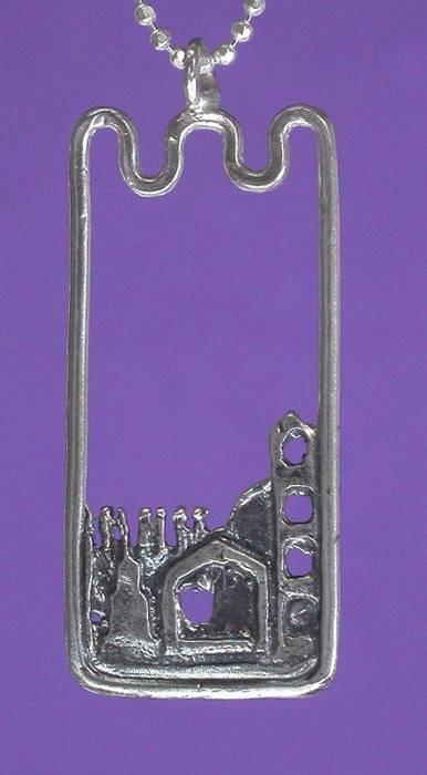 Jerusalem Walls Necklace