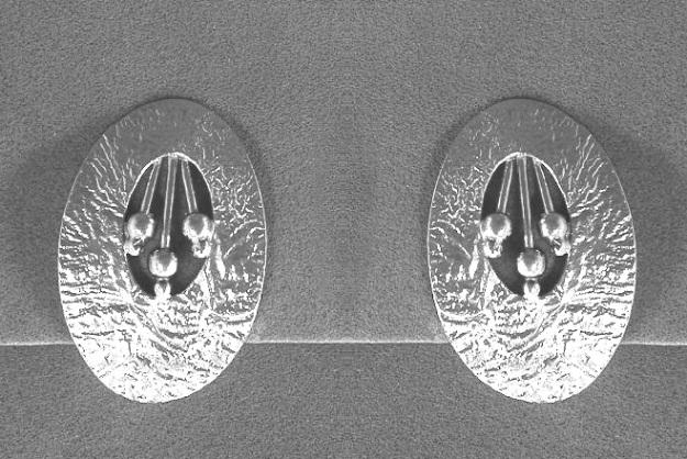 Harp Clips Earrings