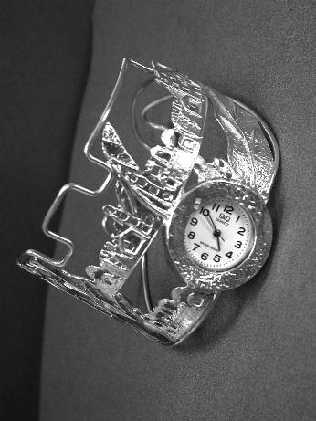 שעון כסף אוירת ירושלים
