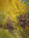 54. נוף צהוב, בית צרפת ירושלים