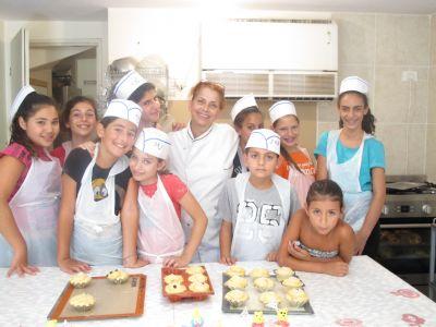 קישור לעמוד קייטנת בישול לילדים