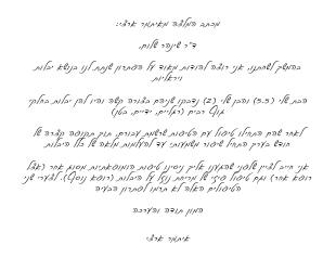 איתמר ארצי | מכתב המלצה
