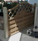 יחידות גדר מעץ