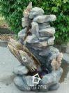מזרקה דמוי אבן 36-35