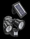 ספוטים לד סולאריים 50X2 עם חיישן