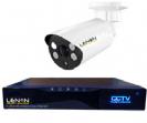 מערכת מצלמות מעקב אלחוטית כולל NVR