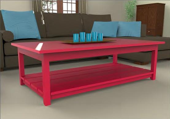 בניית שולחן קפה- צוות גדרון