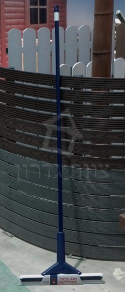 מגב סיליקון עם תופסן לסמרטוט רצפה - צוות גדרון