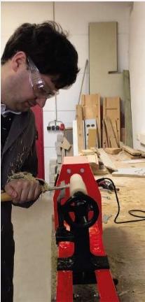 מחרטת עץ מקצועית TC-WW1000 Einhell- צוות גדרון