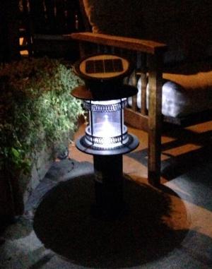 תאורת שביל סולארית מאירה - צוות גדרון