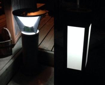 תאורת שביל סולארי מאירה - צוות-גדרון