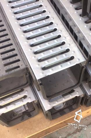 תעלות ניקוז מפלסטיק במבחר מידות- צוות גדרון