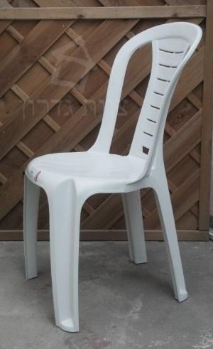כסא פלסטי קל לבית ולחצר - צוות-גדרון