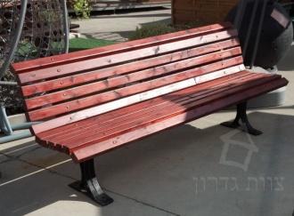 ספסל פארק וגן לשימוש מוסדי ציבורי - צוות גדרון
