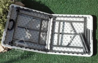 צורת הקיפול של השולחן מזודה - צוות גדרון