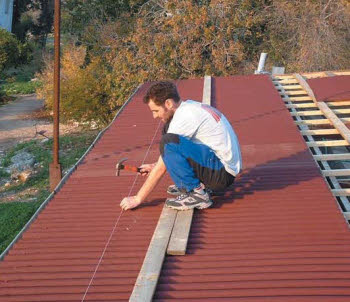 התקנת גגות אונדוליין - צוות גדרון