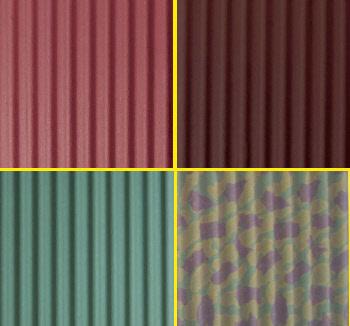 הצבעים האפשריים ללוחות לגגות קלים - צוות גדרון