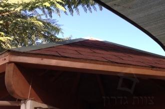 גג שינגלס ללא פרופיל קצה מגן - צוות-גדרון