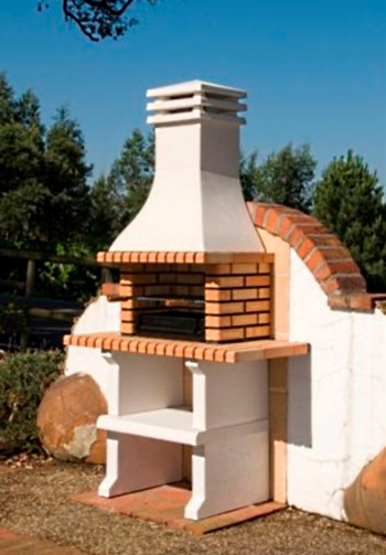 מתקן ברביקיו - מנגל אבן דגם פארגו - צוות-גדרון