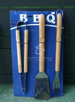 סט כלים למנגל וברביקיו - צוות גדרון