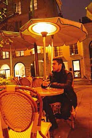 פטריית חימום לבתי קפה ומסעדות - צוות-גדרון