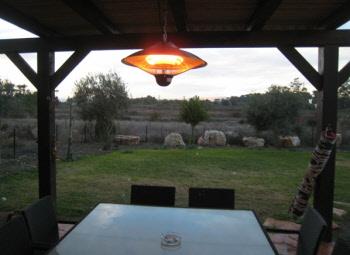 תנורי חימום חשמליים ועוד לבית, לפרגולה ולחצר