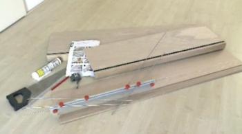 ערכת חיתוך והדבקה של חיפוי עץ למדרגות- צוות גדרון