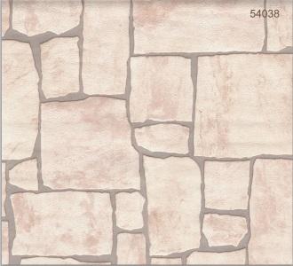 טפט דמוי ציפוי אבנים שטוחות בהירות - צוות-גדרון
