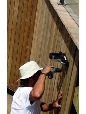 יישור לוחות איפאה בגדר - צוות-גדרון