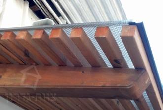 סוככים מעץ - צוות גדרון