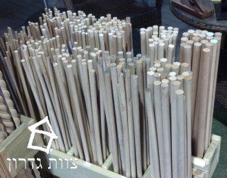 דיבל עץ עגול בקטרים שונים - צוות גדרון