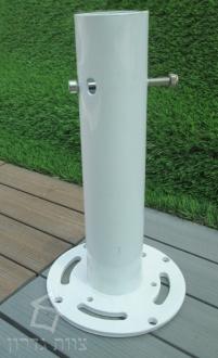 בסיס לקבוע השמשיה לרצפת בטון - צוות גדרון