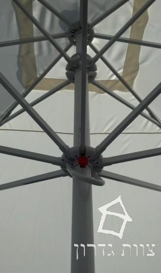 שמשיה ענקית עם מנגנון תפעול קל - צוות גדרון