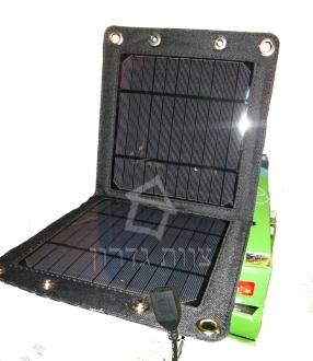 מטען סולארי לנייד  צוות גדרון