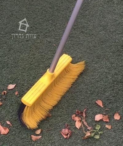 מטאטא יעודי לניקוי דשא סינטטי- צוות גדרון